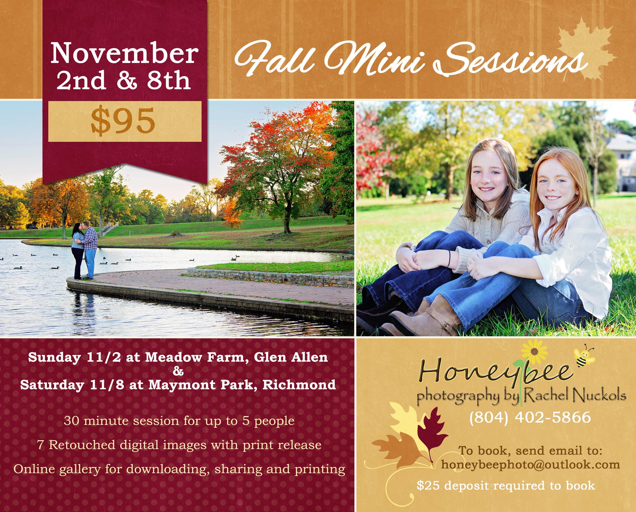 Richmond Va Fall Mini Session