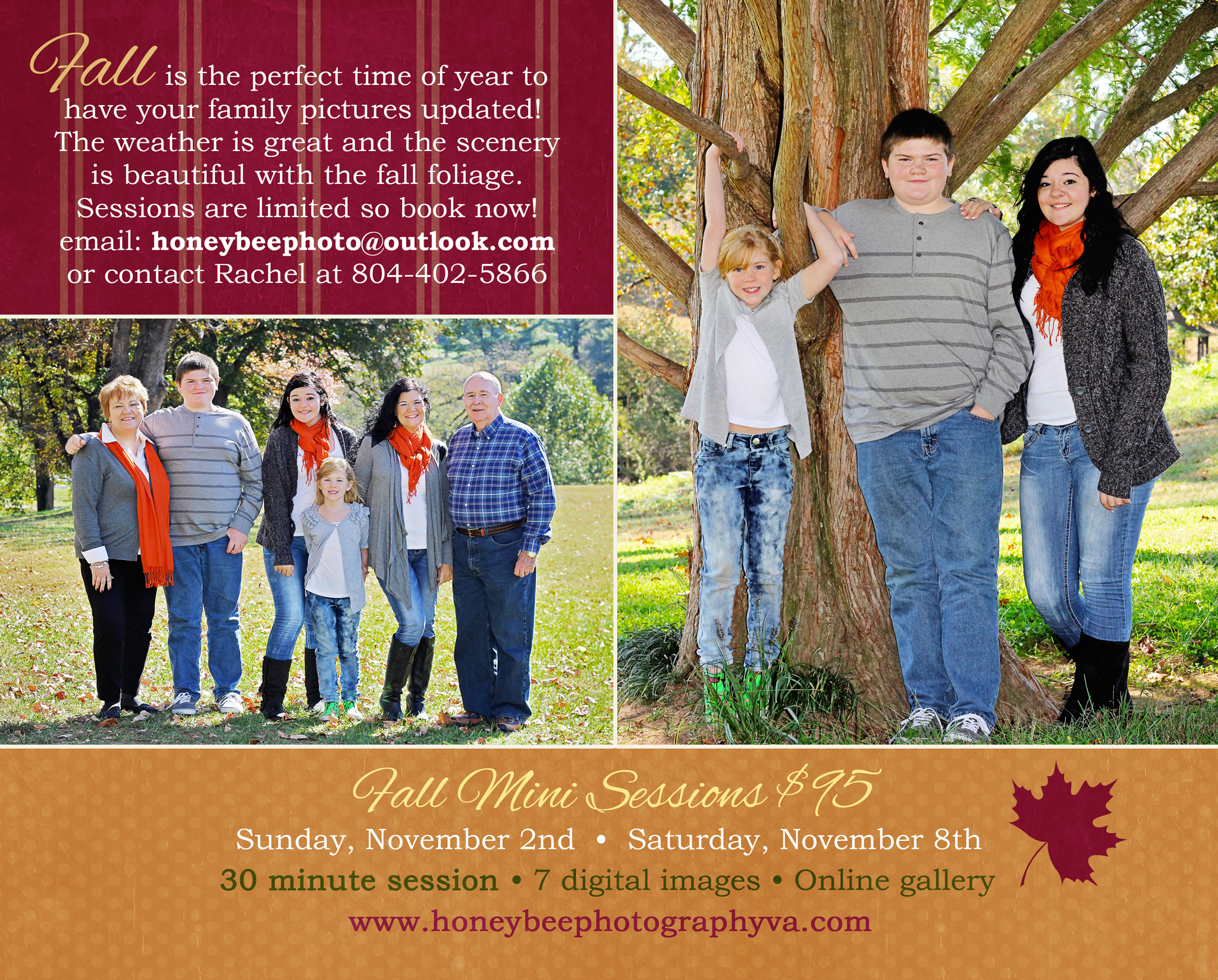 Fall Mini Sessions 2014