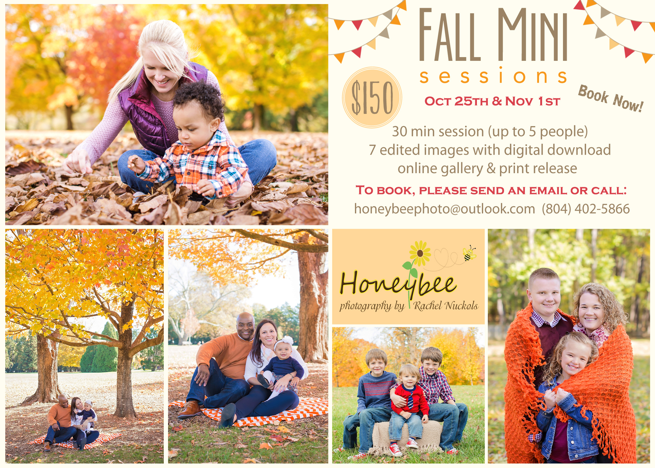 Fall family pictures Richmond Va